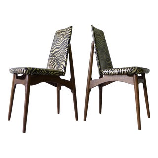 Mid Century Modern Kodawood Side Chairs