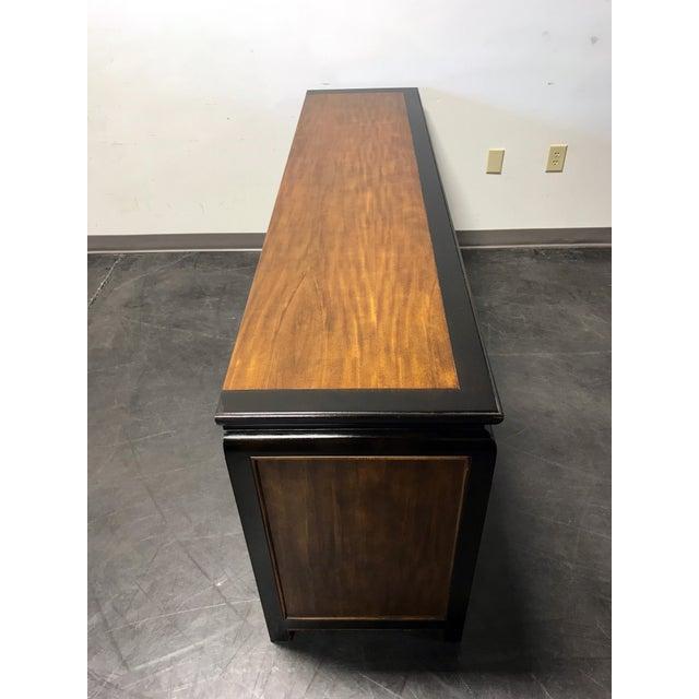 Burlwood Raymond K Sobota for Century Chin Hua Asian Dresser/Credenza For Sale - Image 7 of 11