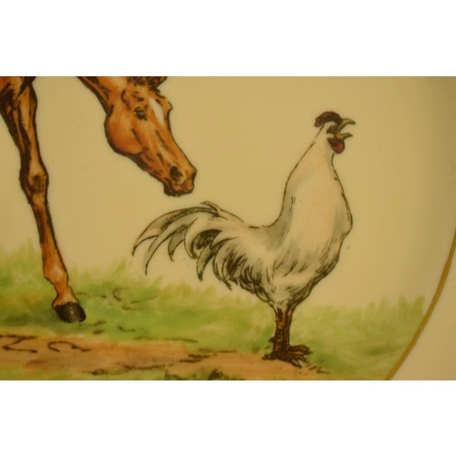 Ceramic 1950's Vintage Cyril Gorainoff Abercrombie & Fitch Plates - Set of 3 For Sale - Image 7 of 12