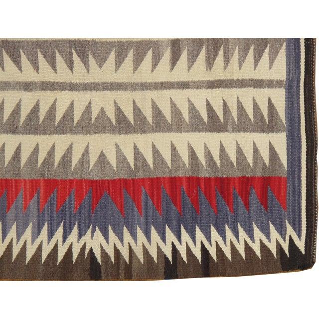 "1950s Vintage Navajo Rug, 2'8""x3' For Sale - Image 5 of 7"