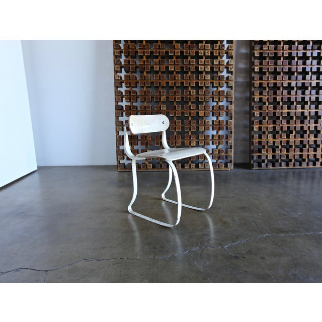 """1940s 1940s Herman H. Sperlich for Ironrite """"Health"""" Chair For Sale - Image 5 of 13"""