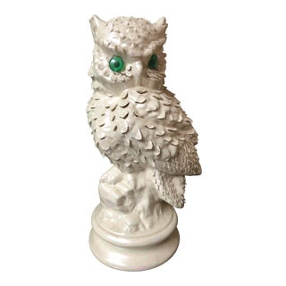 Mid 20th Century Vintage Owl Lamp For Sale