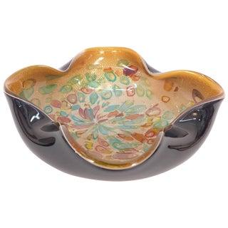 1950s Murano Zanfirico Millifiore Tutti Frutti Bowl For Sale
