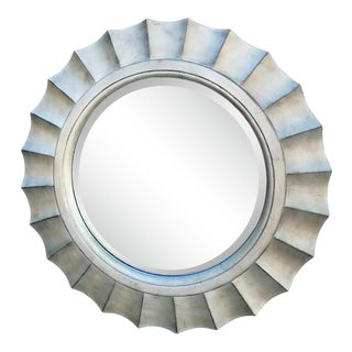 Henredon Contemporary 47 Inch Wall Mirror For Sale