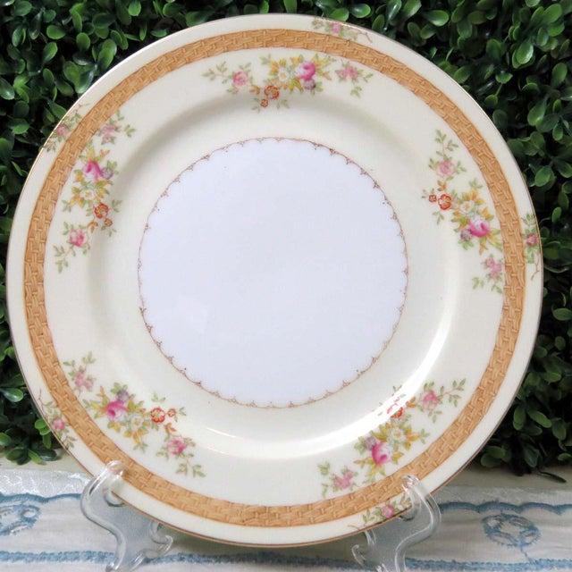 Mid 20th Century Vintage Mismatched Appetizer Plates, Set of 8 For Sale - Image 5 of 11