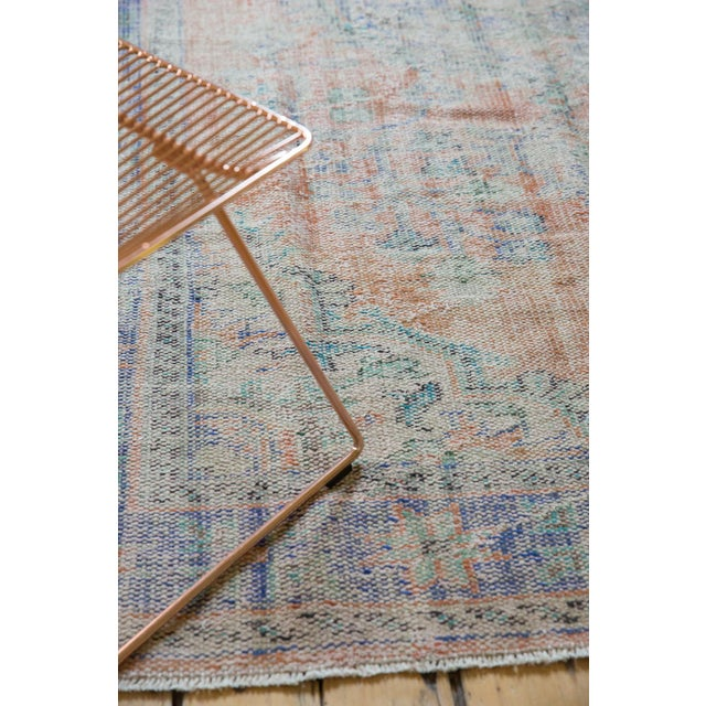 "Vintage Distressed Oushak Carpet - 6'2"" X 9'8"" For Sale In New York - Image 6 of 13"