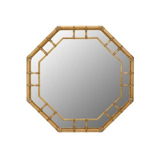 Contemporary Selemat Designs Regeant Octagonal Wall Mirror