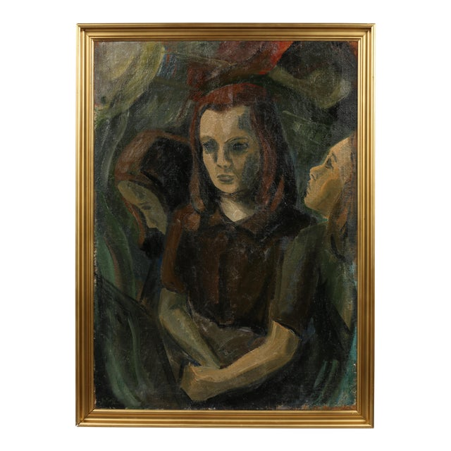 Johan Sejg 'A Girl with Resolve' For Sale