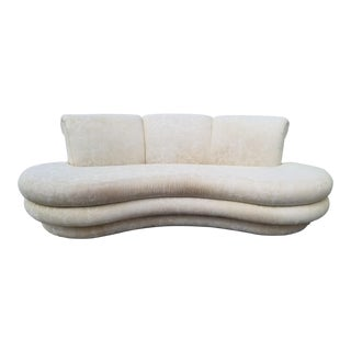80's Postmodern Adrian Pearsall Kidney Sofa . For Sale