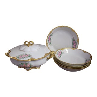 1940s Vintage K & a Krautheim Bavarian China Bowls- 6 Pieces For Sale
