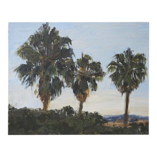 Plein Air California Impressionist Oil Painting