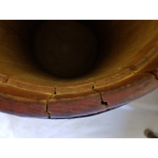Antique Oak Butter Churn - Image 8 of 9