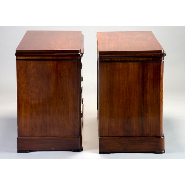 Pair Mahogany Chests With Black Detailing - Image 5 of 11
