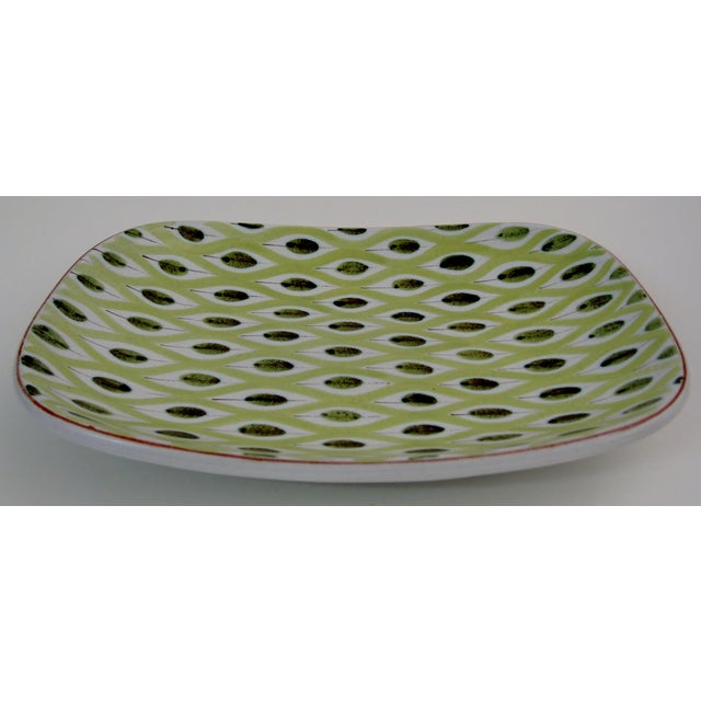 Mid-Century Modern 1950s Stig Lindberg Dish For Sale - Image 3 of 4