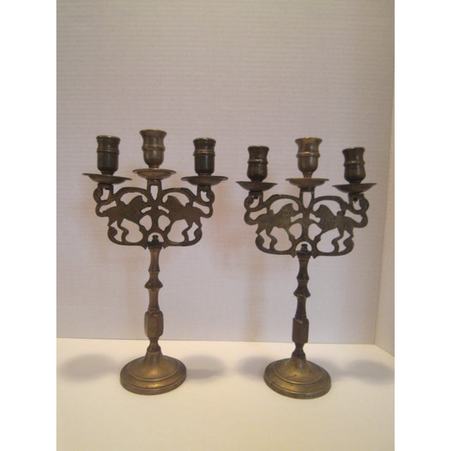 Antique Chinese Candelabrum - A Pair - Image 2 of 8
