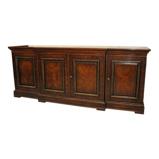 Drexel Heritage Walnut & Cherry Credenza For Sale