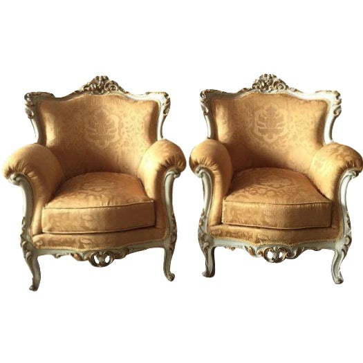 Baroque Armchairs - A Pair - Image 1 of 6