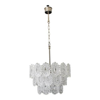 Beautiful Italian Modern Chandelier By Murano Glass, Circa 1960s