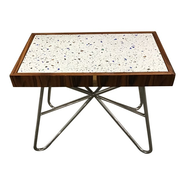 Starburst Side Table by Resource Decor For Sale