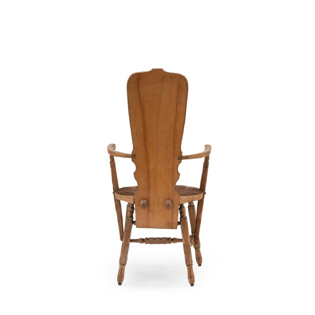 French Provincial Crane Arm Chair For Sale In New York - Image 6 of 7