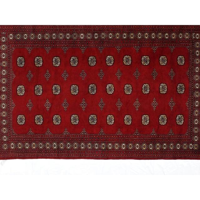"Leon Banilivi Royal Bokara Carpet - 6'2"" X 9'8"" For Sale - Image 4 of 6"