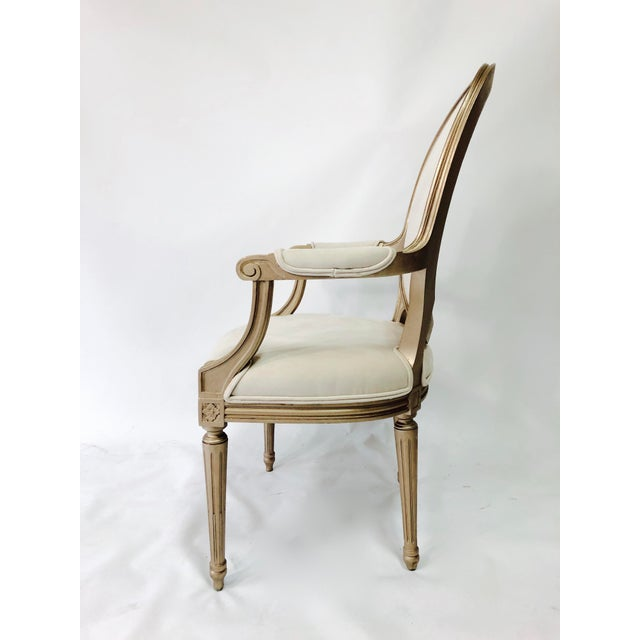 Traditional 19th Century Vintage Painted Chairs - a Pair For Sale - Image 3 of 6
