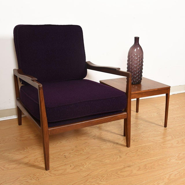 Edmond Spence Mid-Century Modern Walnut Club Chairs - a Pair For Sale - Image 11 of 13