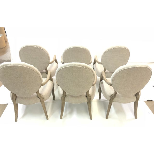 2010s Contemporary Tufted Upholstered Armchair For Sale - Image 5 of 9