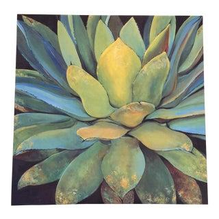 Colorful Succulent Canvas Print