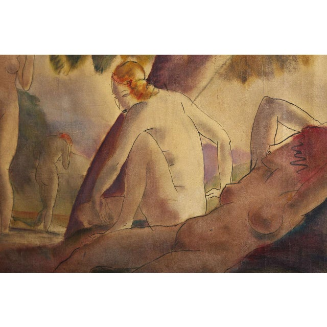 Bathing Nudes, 1938 For Sale - Image 4 of 7