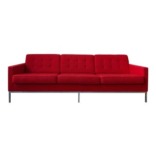 Florence Knoll Sofa Original From Design Within Reach For Sale