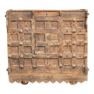 Tribal Indian Dowry Chest For Sale