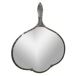 Steel Hammered Edge Mirror