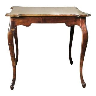 20th Century English Georgian Style Veneered Side Table For Sale