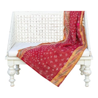 Fida Bengal Kantha Throw For Sale