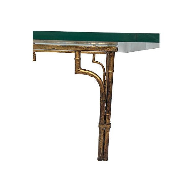 Gilt & Glass Coffee Table - Image 4 of 5