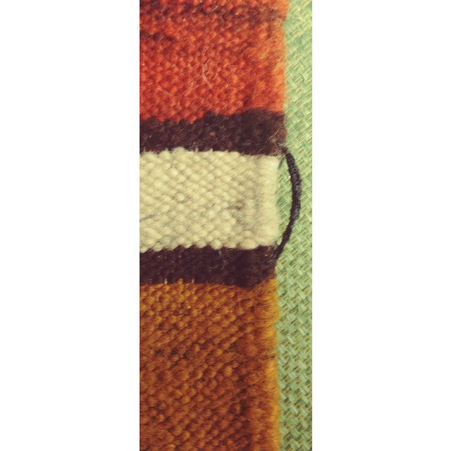 Handmade Area Rug Tapestry - 3′3″ × 6′9″ For Sale In Minneapolis - Image 6 of 9