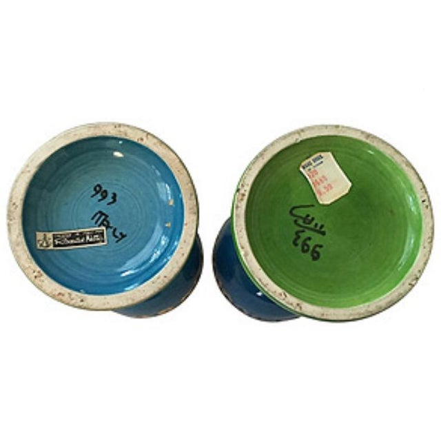 Mid-Century Modern Rosenthal-Netter Mid Centiury Candle Holders - A Pair For Sale - Image 3 of 4