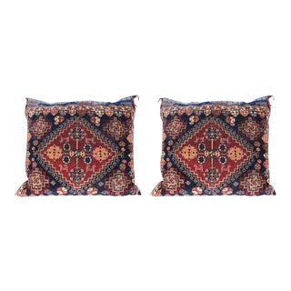 Pair of Qashqai Bagface Pillows For Sale