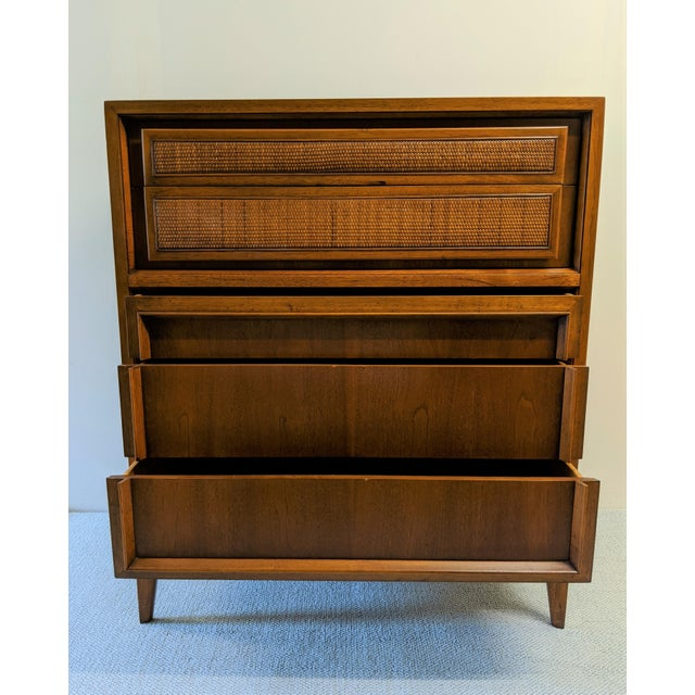 Vintage Mid-Century Modern Century Furniture Co. Walnut