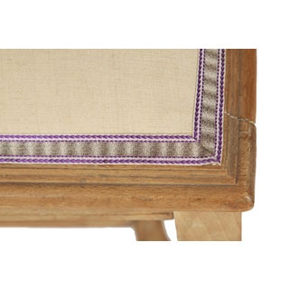 Circa 1900 French Louis XVI Upholstered Wood Bench Preview