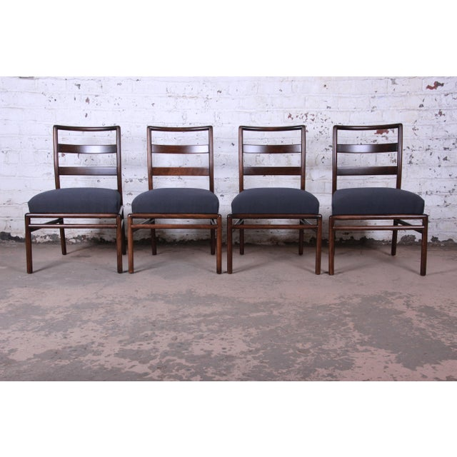 1950s Robsjohn Gibbings for Widdicomb Mid-Century Modern Dining Chairs -Set of 6 For Sale - Image 5 of 13