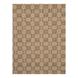 "Holland & Sherry ""Cirella"" Printed Wool in ""Taupe/Fog""Fabric - 11.4 Yards"
