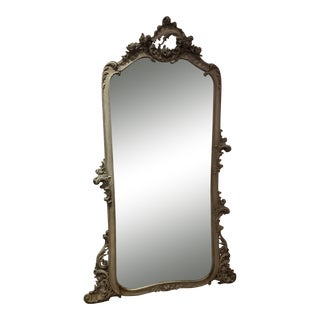 Antique French Rococo Mirror For Sale