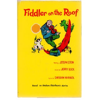 Fiddler on the Roof by Joseph Stein Book