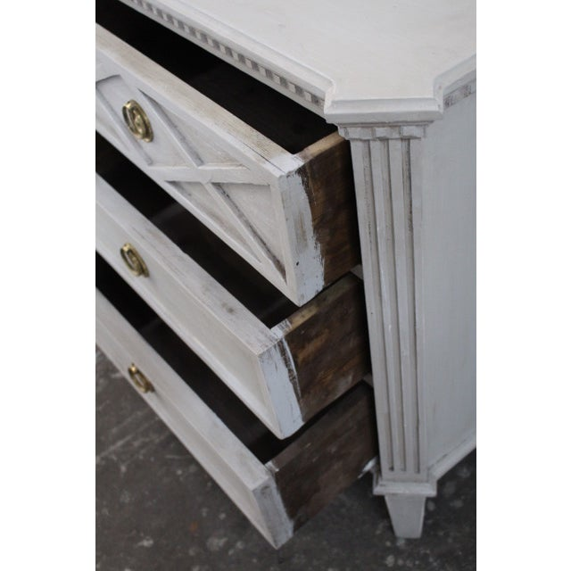 20th Century Swedish Gustavian Style Nightstands - A Pair For Sale - Image 9 of 11