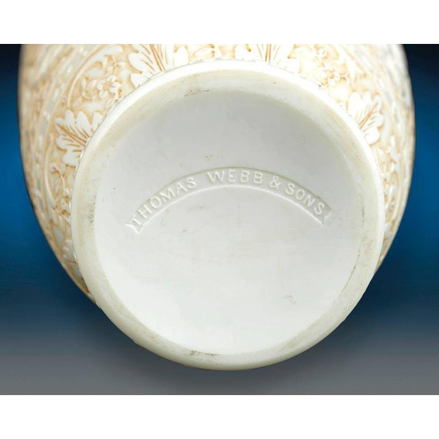 Cameo Glass Vases by Webb For Sale In New Orleans - Image 6 of 8