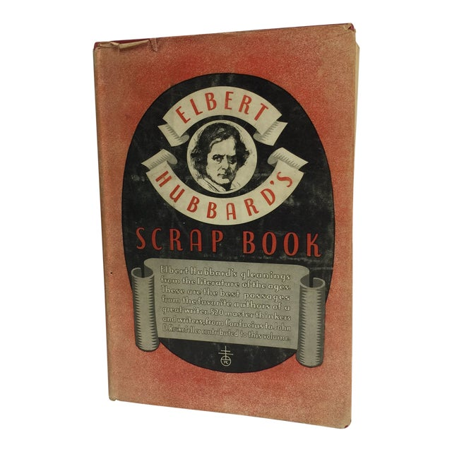 1923 Elbert Hubbard's Scrap Book For Sale