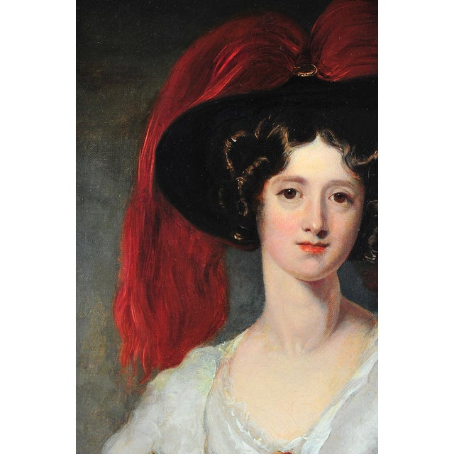 """Lady Peel"" after Sir Thomas Lawrence For Sale In Los Angeles - Image 6 of 9"