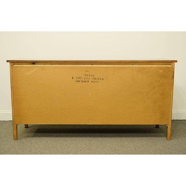 "20th Century Italian Dixie Furniture 64"" Triple Dresser For Sale - Image 10 of 13"